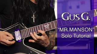 Play Mr. Manson