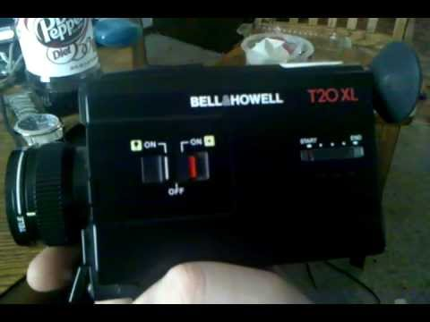 Bell and Howell T20 XL