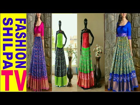 452db6830ed8b1 New Collection of IKKAT PURE SILK LEHENGA WITH BLOUSE with Price Fashion  Park Ikkat Pattu Pavadai