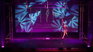 Felix Cane - Guest Performer - Group Champions - West Australian Pole Championships 2016