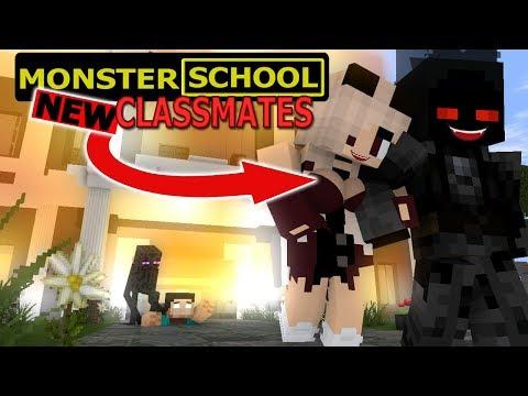 MONSTER SCHOOL : NEW CLASSMATES - DARK ENTITY VS MONSTERS