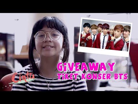 CINTA KUYA | Giveaway BTS Ticket Concert Wings Tour