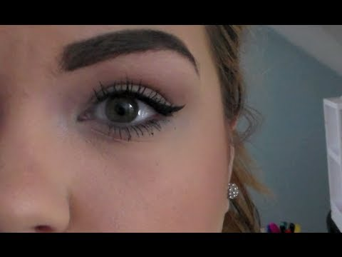 $5 PERFECT WINGED EYELINER TUTORIAL!