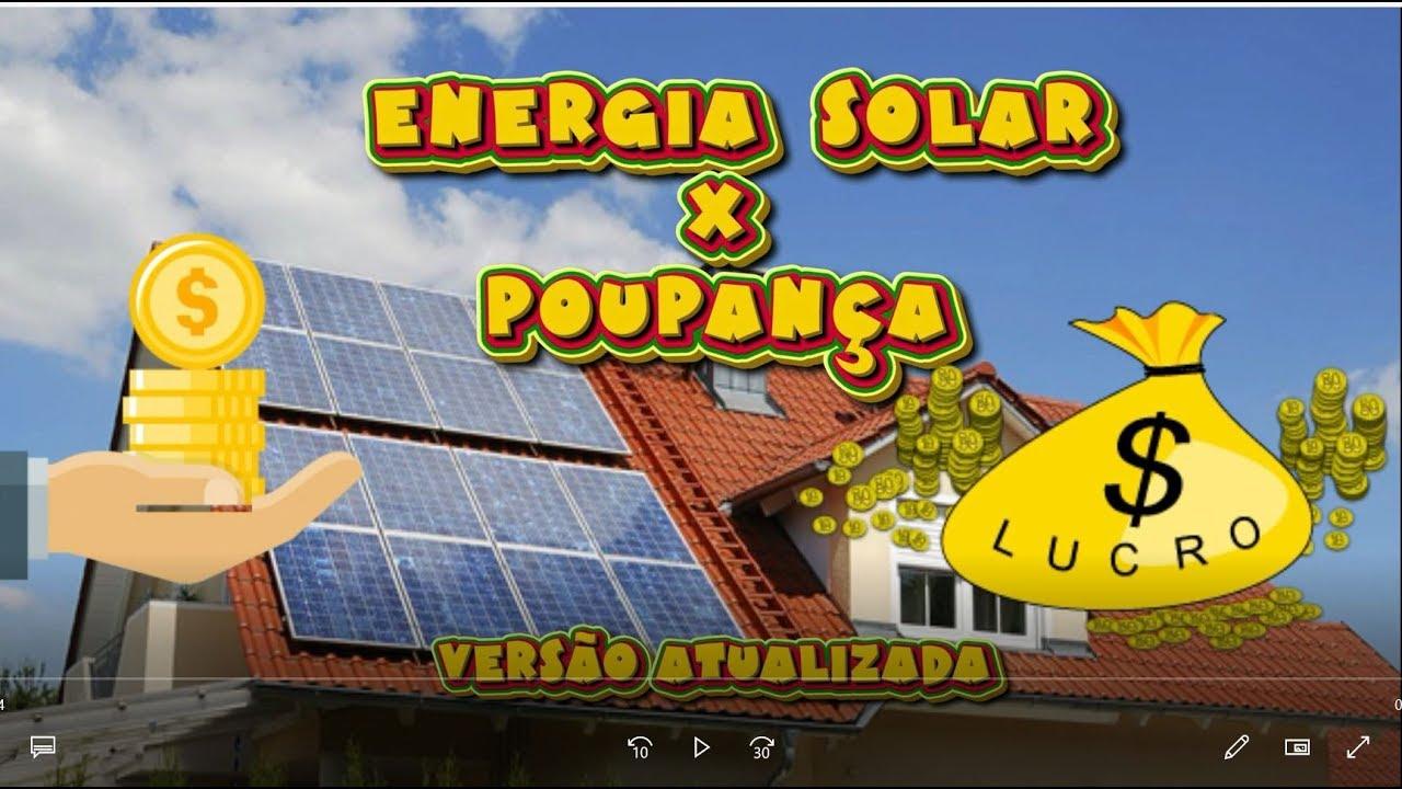 UMA ANÁLISE FINANCEIRA DA ENERGIA SOLAR NO BRASIL