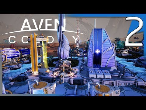 Aven Colony | HOVER CARS AND PLAGUE SPORES! | Campaign Gameplay E2
