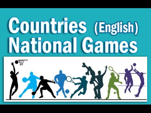 Countries and Their National Games in English | Static GK