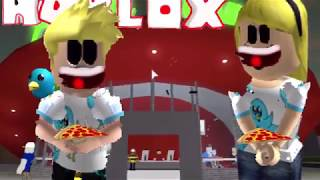 Let's Relax Outside And Go Eat Pizza! Roblox Bloxburg Chad Inspired Mansion With Amanda!