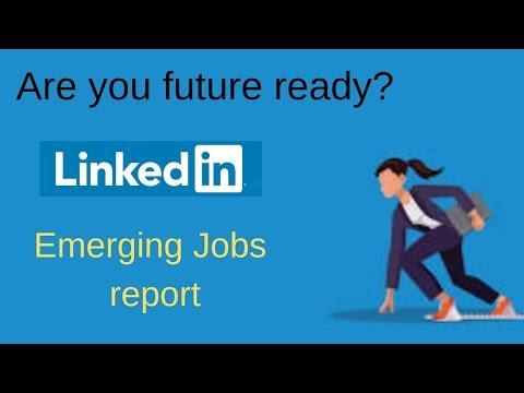 Are You Future Ready? LinkedIn Emerging Jobs Report - Blockchain #1