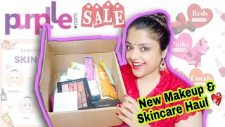 Purplle Sale Haul | I 💖 Beauty Sale | New Makeup \u0026 Skincare | Priaz Beauty Zone