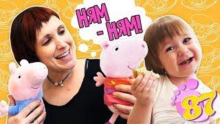 Привет, Бьянка, Пеппа и мама Маша Капуки готовят лепешки - Рецепты для детей