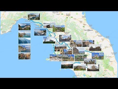 Путешествие по Италии - что посмотреть за 9 дней  |  Traveling In Italy - What To See In 9 Days