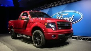 Sporty 2014 Ford F-150 Tremor Pickup debuts in Dearborn