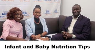Infant and Baby Nutrition Tips