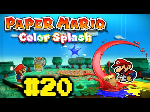 Paper Mario Color Splash #20 - Mario O Gigante!