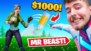 $1000 bottle flip (MrBeast in Fortnite)