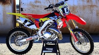 Ultimate Honda CR500 AF 2 Stroke build|| Shaken not Stirred|| Motocross Action Magazine