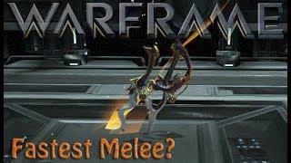 Warframe - Fastest Melee?