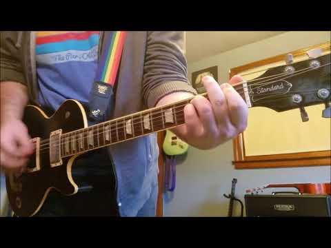 Blink 182 - Voyeur Guitar Cover