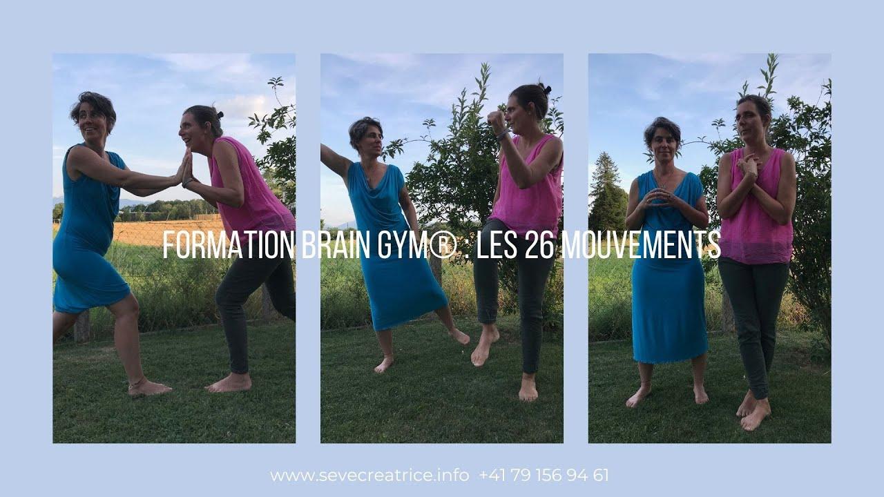 Brain Gym®, les 26 mouvements