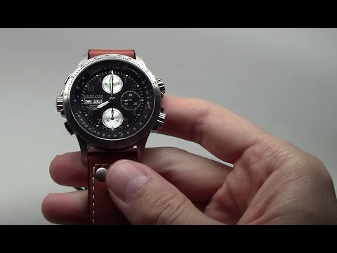 616f468d577 Hamilton Khaki X Wind Men s Watch Review Ref  H77616533 - YouTube