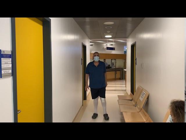 Αποκατάσταση 20 ημερών ρομποτικής (ROSA) αρθροπλαστική γόνατος ταχείας κινητοποίησης (fast track)!