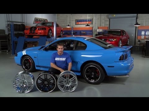 Mustang 10th Anniversary Cobra Style Wheel (94-04) Overview