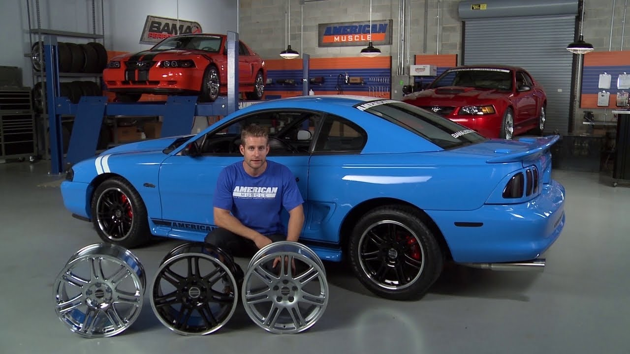 Fox Body Wheels >> Mustang 10th Anniversary Cobra Style Wheel (94-04) Overview - YouTube