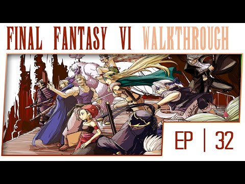 Final Fantasy 6 No Commentary Gameplay Walkthrough - Part 32 - Doma Castle [Boss: Dream Stooges]