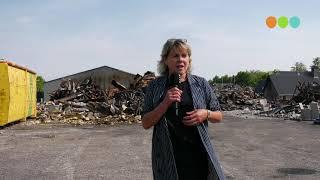 Burgemeester Tanja Haseloop over de gevolgen van de brand bij Rhodos