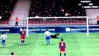 Pro Evolution Soccer 2011 Wii Online Highlights.