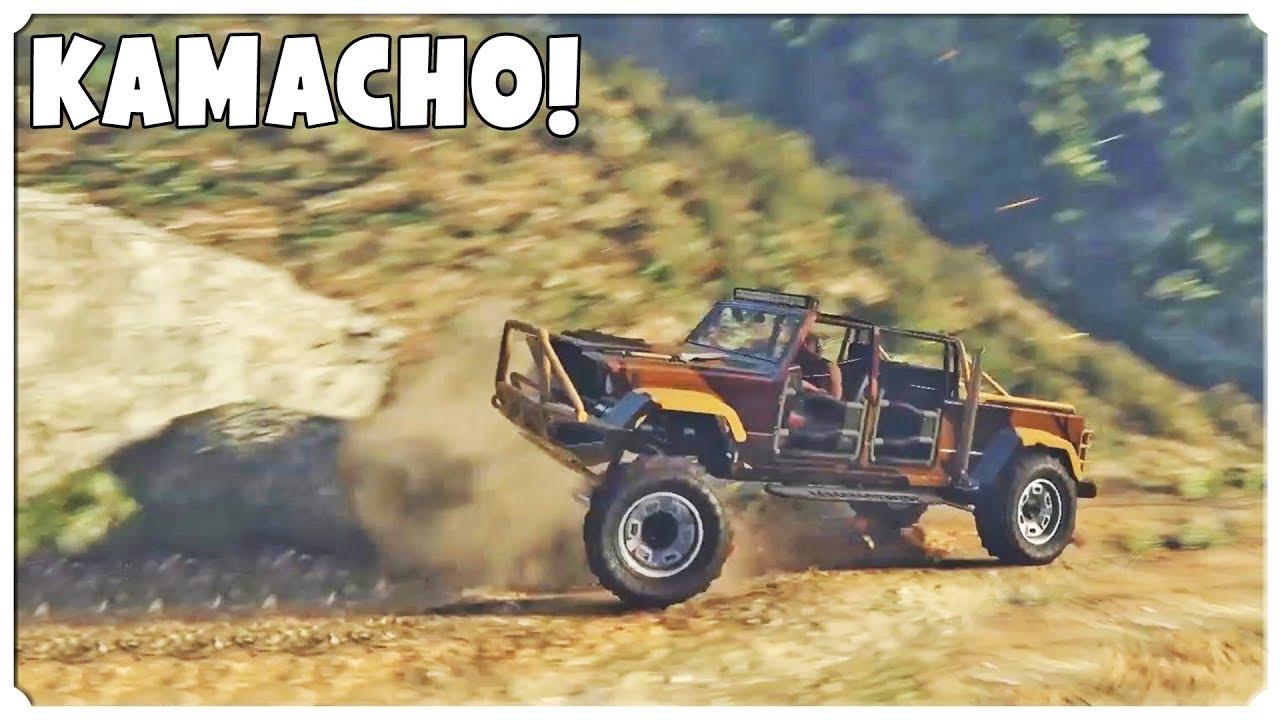 GTA 5 TUNING – Niezwykły test Kamacho!