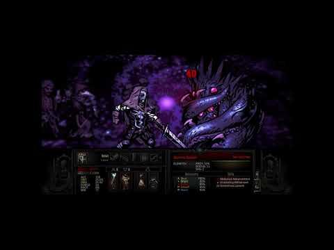Darkest Dungeon - Leper vs Lvl. 5 Shambler - Round 2 (Bloodmoon)
