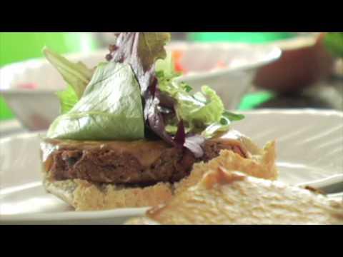Ballin' Black Bean Burgers with Chipotle Mayo