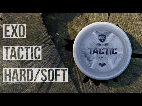 Discmania Exo Hard/Soft Tactic Review