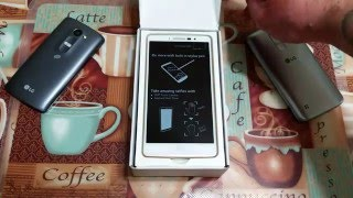 LG G Stylo white color Unboxing Metro pcs