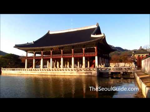 Gyeongbokgung Palace, the main Joseon palace in Seoul, South Korea