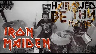 Iron Maiden - Hallowed Be Thy Name - Drum Cover