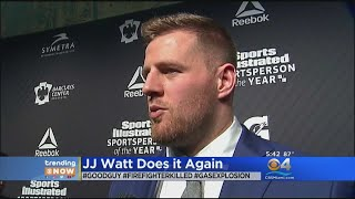 Trending: J.J. Watt Donates $10,000 To Fallen Firefighter's Family