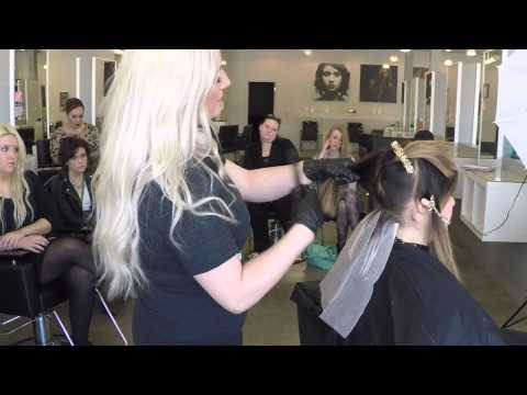 Olaplex at Cosmetology School| Balayage Tutorial|