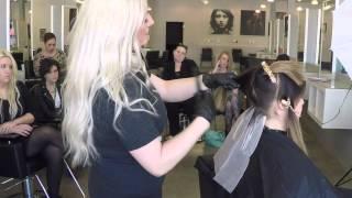 Olaplex at Cosmetology School| Balayage Tutorial|