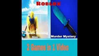 2 Games 1 Roblox video!!!