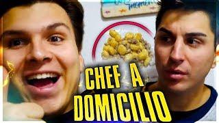 CHEF A DOMICILIO DA SASCHA - Gnocchi Zola e Salsiccia - in cucina con Klaus thumbnail