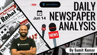 Daily Current Affairs 2021: Newspaper Analysis for Defence Exams | NDA/AirforceXY/Navy | Sumit Kumar