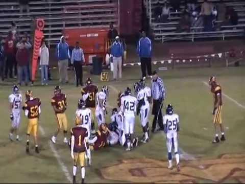 Avery Crump Verbum Dei Football Highlights