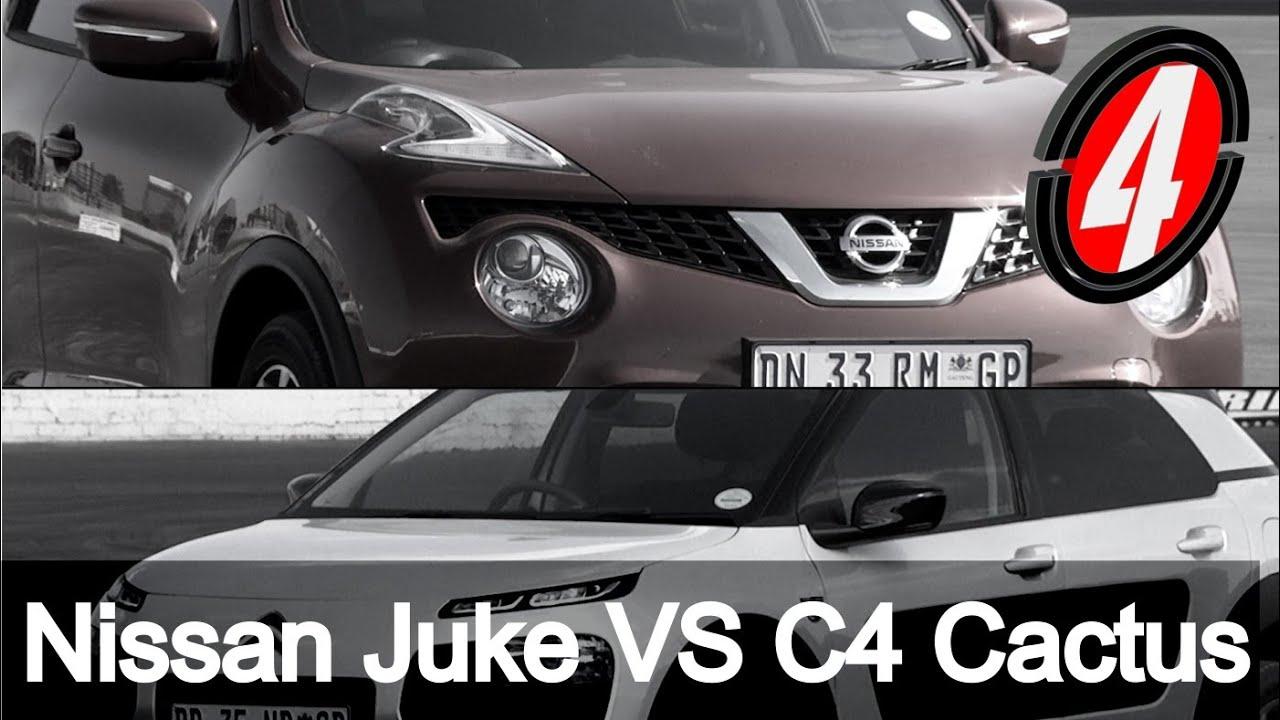 nissan juke vs c4 cactus   new car review - youtube