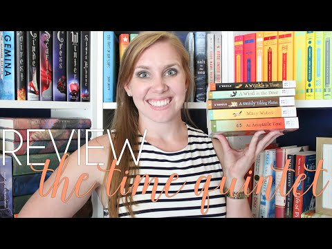 SERIES REVIEW | The Time Quintet by Madeleine L'Engle