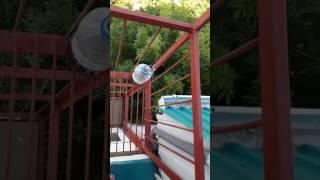 Анапа,Джемете ,гостевой дом «Чайка» вид с балкона на этаже