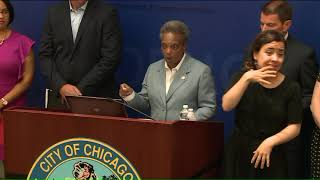 Mayor Lightfoot Engages In Policy Feud Over Gun Violence With Preckwinkle
