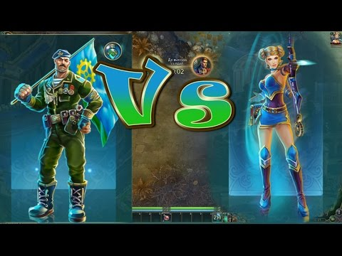 видео: Комбат(Мейдзин) vs Амазонка(Лучница) 36x36 prime world
