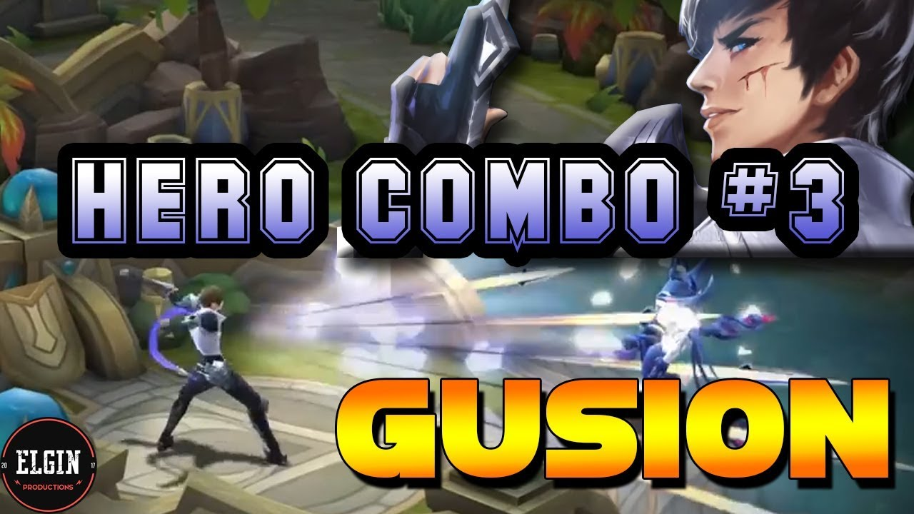HERO COMBO #3 - GUSION - WHAT IS HIS COMBO? - IS GUSION/GOSSEN THAT HARD TO USE?